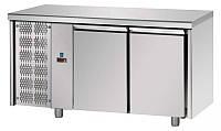 Стол холодильный DGD TF02EKOGNSXAL (2 дверей, агрегат слева )