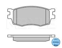 Колодки тормозные передние Hyundai Accent III 2005-->2010 Meyle (Германия) 025 243 1717/W