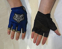Перчатки KNIGHTHOOD без пальца, велоперчатки, перчатки для тренировок, спортивные перчатки