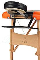 Массажный стол BodyFit, 4 сигментный,деревянный, фото 3