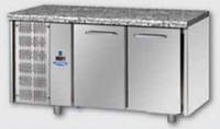 Стол холодильный DGD TF02EKOGNSXGRA (2 дверей, агрегат слева, столешница - гранит )