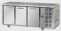 Стол холодильный DGD TF03EKOGNGRA (3 дверей, столешница - гранит)