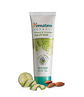 Отшелушивающая маска-пленка для лица Миндаль и Огурец, Himalaya Herbals Almond and Cucumber Peel-off Mask