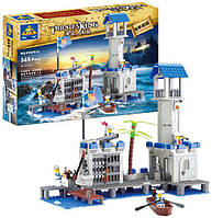 Конструктор Пиратская база 87012, 365 дет