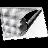 Виброизоляция vizol 4 мм (визол) автомобиля пол, щит моторного отсека, шумоизоляция