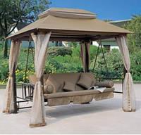 Садовая качеля шатер