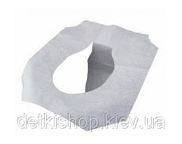 Накладки на унитаз одноразовые (комплект 10 штук)