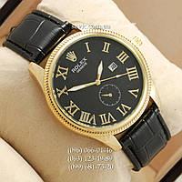 Наручные часы Rolex 4207 Geneve Black-Gold-Black