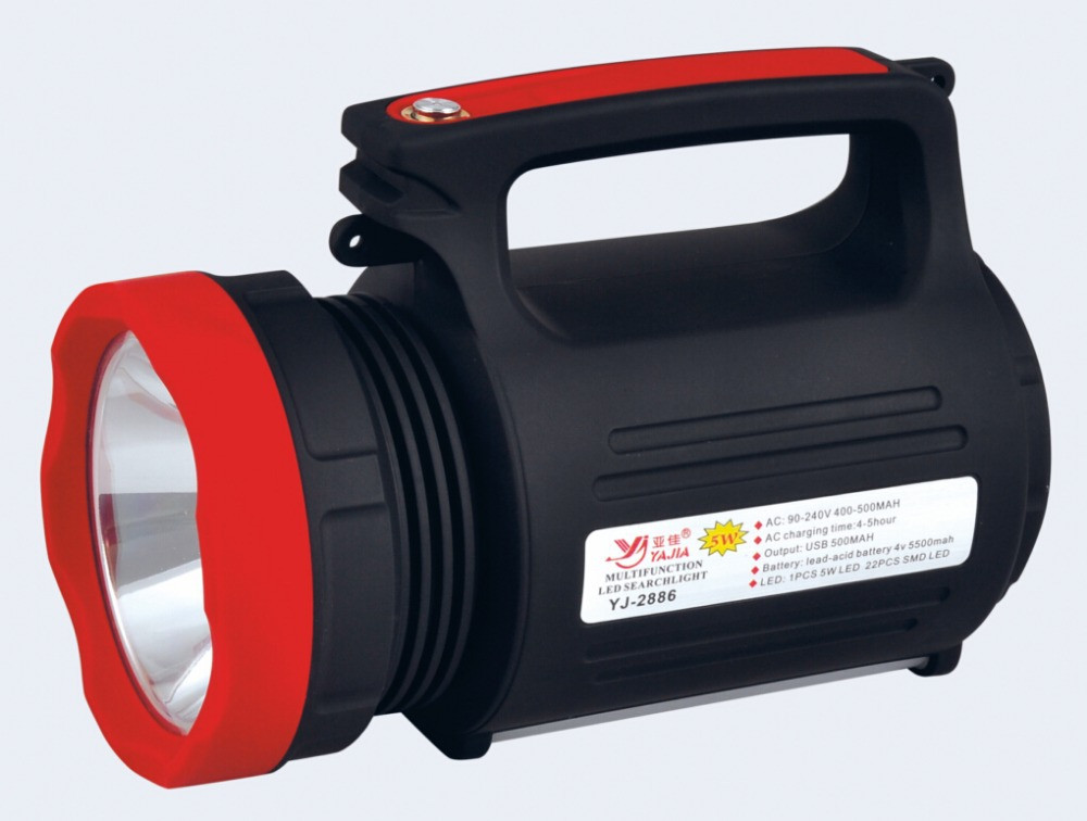Ліхтар прожектор Yajia YJ-2886 + 22 LED + Power Bank