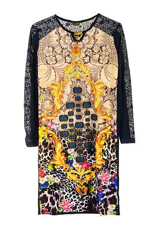 Нарядное платье с цветами, фото 2