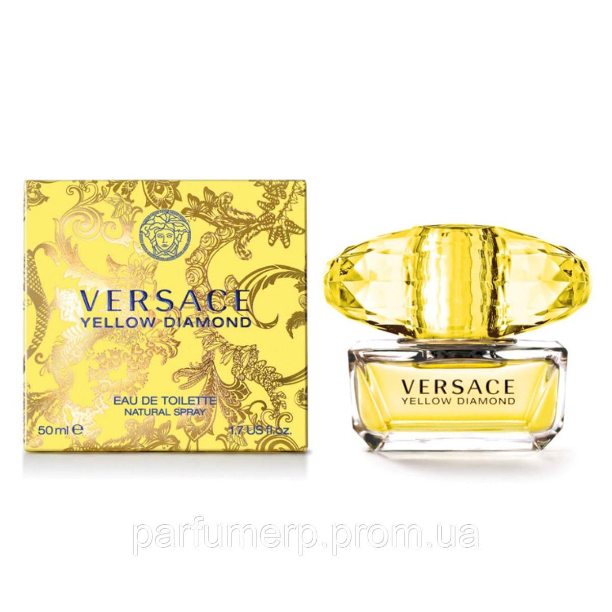 Versace Yellow Diamond (50мл), Женская Туалетная вода  - Оригинал!