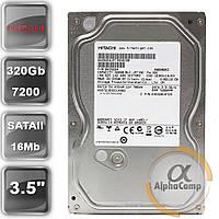 "Жесткий диск 3.5"" 320Gb Hitachi HDS721032CLA362 (16Mb/7200/SATAII) БУ"