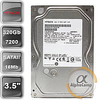 "Жесткий диск 3.5"" 320Gb Hitachi HDS721032CLA362 (16Mb/7200/SATAII) БУ"