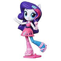 Май литл пони мини-кукла Девушки Эквестрии Рарити шарнирная с микрофоном. Оригинал Hasbro