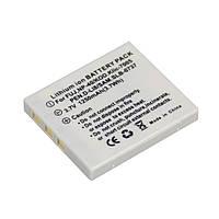 Аккумулятор для камер Panasonic CGA-S004 (NP-40, DMW-BCB7, D-LI8, SLB-0737, DS-5020, NP-1) - аналог на 1250 ма