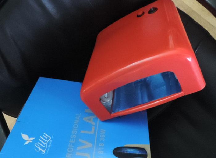 """Лампа для ногтей УФ лампа UV """"Lilly Professional LI 818, 36 W"""". Профессиональная лампа для ногтевого сервиса."""