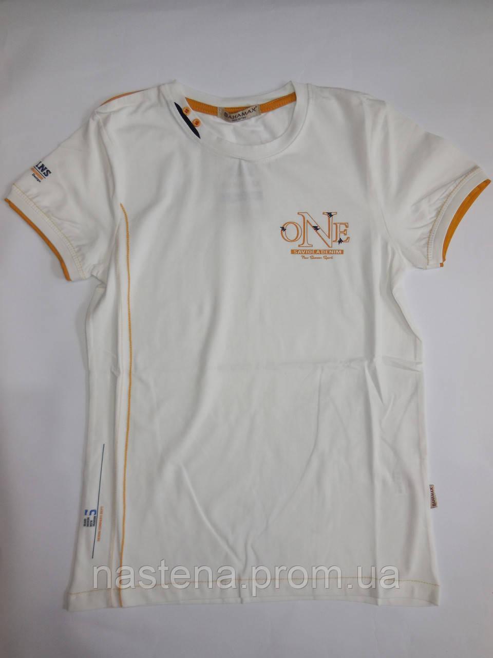 Турецкая футболка для мальчиков BANAMAX от 140 до 176 см рост.