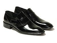 Лаковые мужские туфли Etor