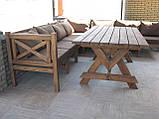 Стол Эмине 2,2м, деревянная мебель для дачи Эмине, фото 2