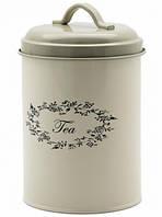 Металлическая банка для чая (17х11 см.)