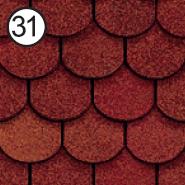 ROOFSHIELD Фемили Готик 31 (красный)