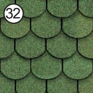ROOFSHIELD Фемили Готик 32 (зеленый)