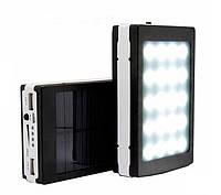 Внешний аккумулятор Power Bank UKC 15000 mah Solar+Led