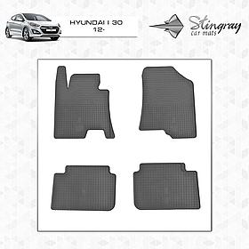 Коврики в салон Hyundai i30 2012- (4 шт) Stingray 1009054
