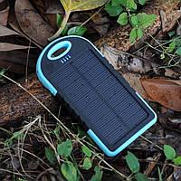 Солнечная батарея UKC Power bank solar 12000 mAh с мощным фонарем