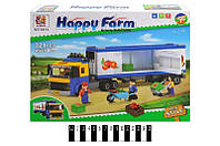"Конструктор Happy Farm (Ферма) ""Рефрижератор"" 6014, 321 дет"
