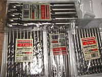 Свердло по металу 5.0х52х86 мм ц/х ср. с.(DIN 338), HAISSER