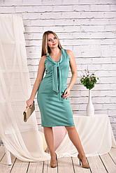 Летнее трикотажное платье Разные цвета