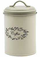 Металлическая банка для кофе (17х11 см.)