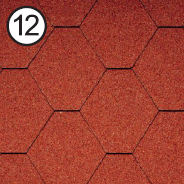 ROOFSHIELD Классик Стандарт 12 (кирпично-красный)