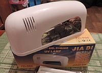 Ультрафиолетовая УФ (UF) индукционная лампа 9 Вт для сушки геля. Лампа для маникюра., фото 1