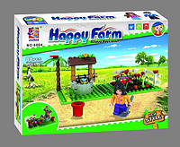 "Конструктор Happy Farm (Ферма) ""Клумба"" 6004, 88 дет"