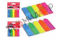 Закладки пластиковые неоновые, 125 шт, TM Axent