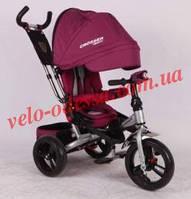 """Коляска-трехколёсный велосипед T-400""""CROSSER"""" надувные колеса"""