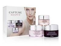 """Набор антивозрастных кремов для лица 3 в 1 Christian Dior """"Capture Sculpt 10"""""""