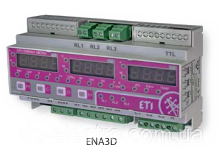Трёхфазный анализатор сети ENA3D (9мод., DIN-rail, 230 L/N)