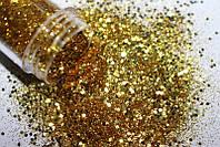 Украшение для ногтей, Брокард, Gold