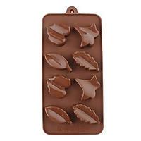 Форма для шоколада Листики