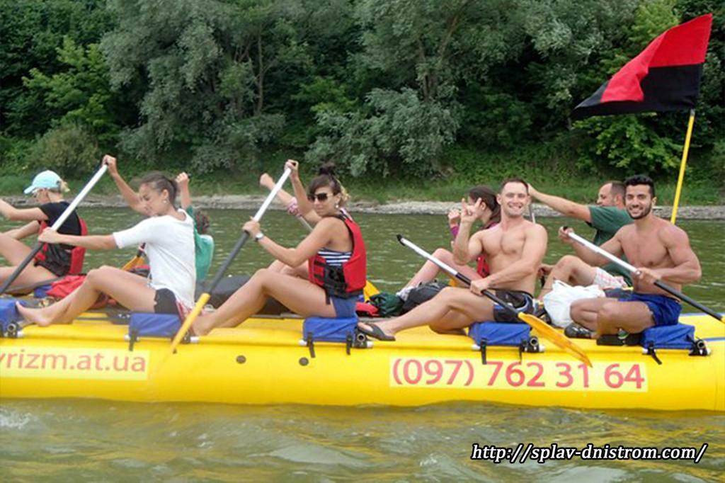 Енергетика та драйв, перегони, походи, максимум природи під час сплавів річкою Дністер.