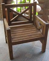 Кресло Эмине, деревянная мебель для дачи Эмине