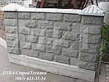 Вибропресс для декоративных колотых блоков цена, фото 4