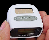 Шагомер со счетчиком калорий на солнечной батарее , фото 1