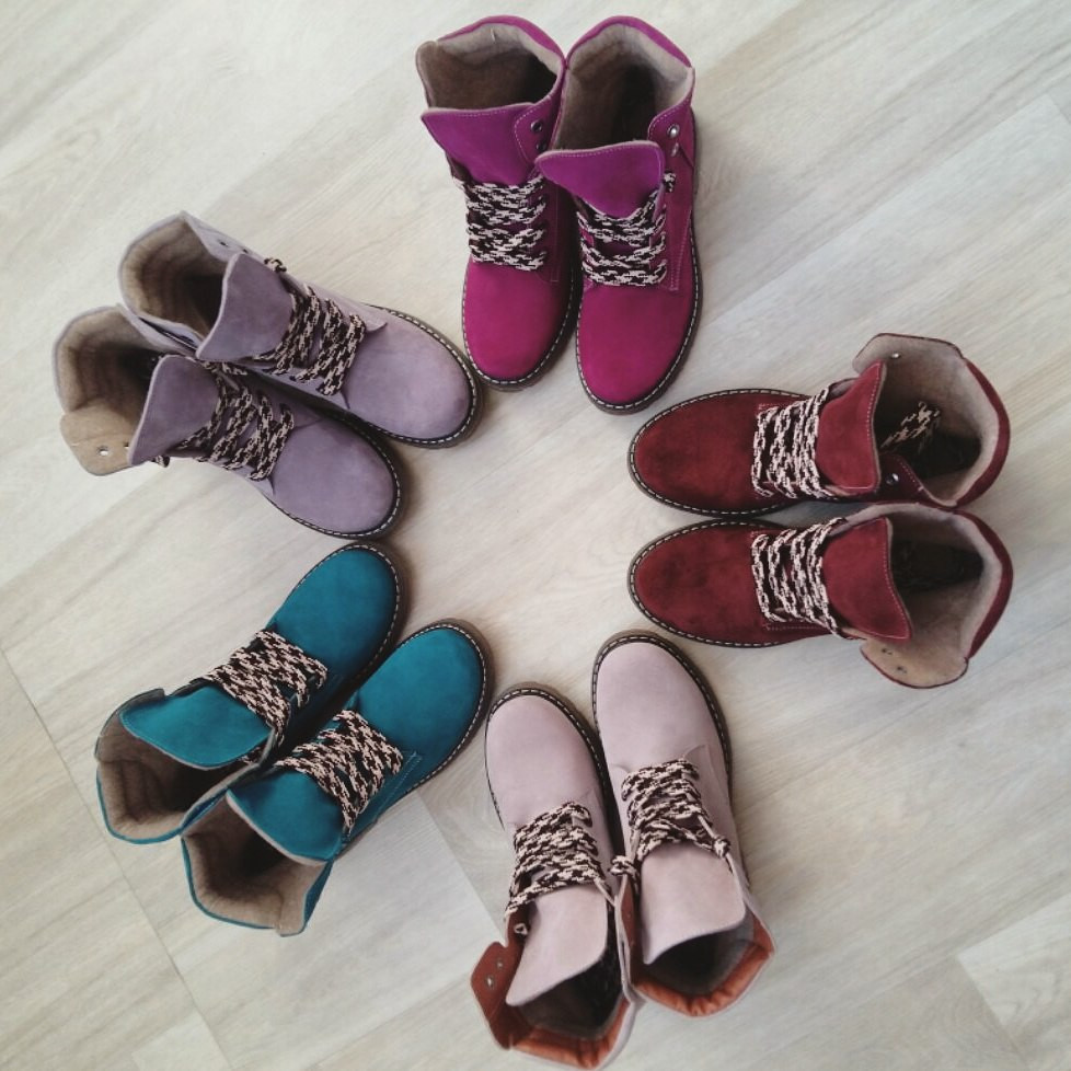 """Зимние женские ботинки """"Комфорт"""" ТМ Bona Mente (разные цвета)"""