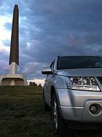 Ветровики  Suzuki Grand Vitara 2005-2015 (HIC) Тайвань