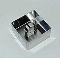 Форма для мусса, салата квадрат с прижымом, фото 1