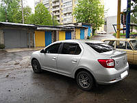 Ветровики  Renault Logan 2012 -> Sedan (HIC) Тайвань